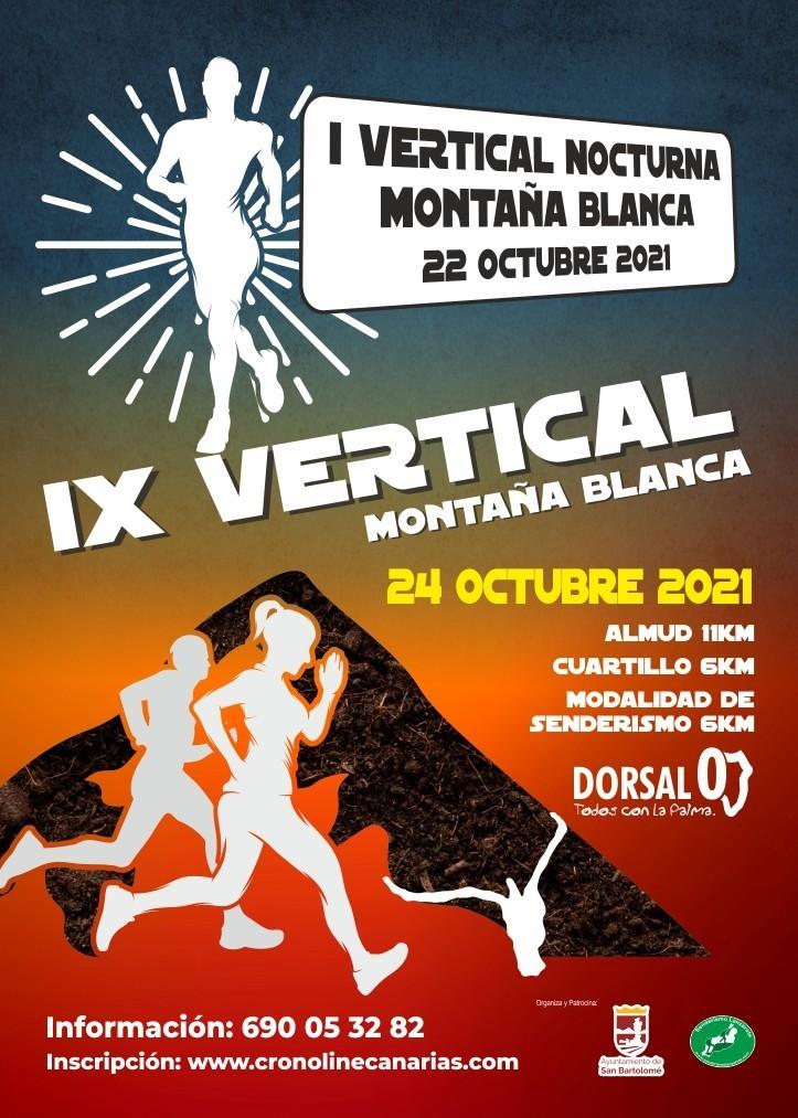 IX Vertical Montaña Blanca 2021